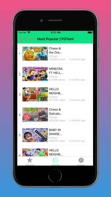 FGTeev - Gaming Videos screenshot 4