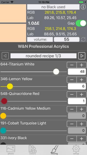 Real Paint mixing tools screenshot 10