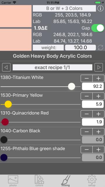 Real Paint mixing tools screenshot 14