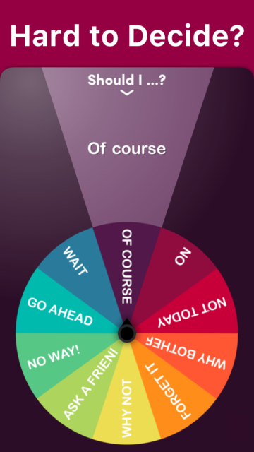 Daily Decision Wheel screenshot 7
