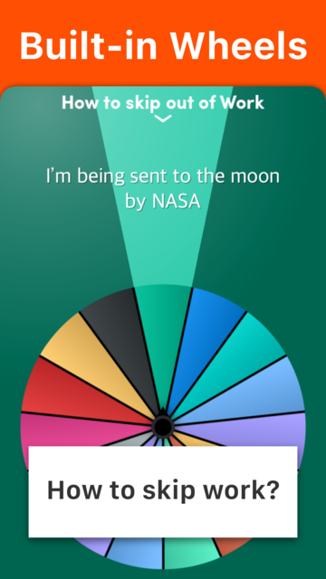 Daily Decision Wheel screenshot 9