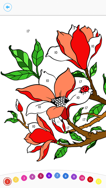 Paint by Number:Coloring Game screenshot 5