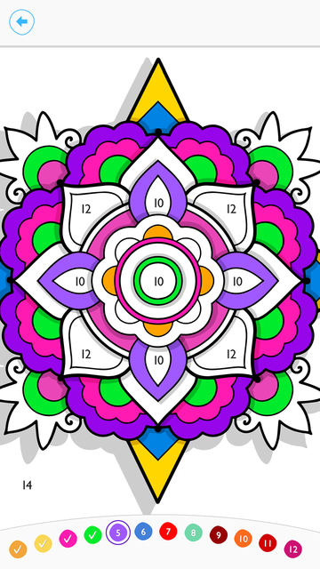 Paint by Number:Coloring Game screenshot 8