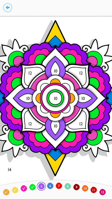 Paint by Number:Coloring Game screenshot 4
