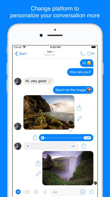 ChatsFake for WhatsApp screenshot 3