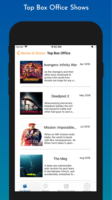 The Playbox - Movies & Shows screenshot 8