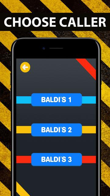 Calling Baldis - Basic Game screenshot 4