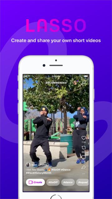 Lasso – short, fun videos screenshot 1