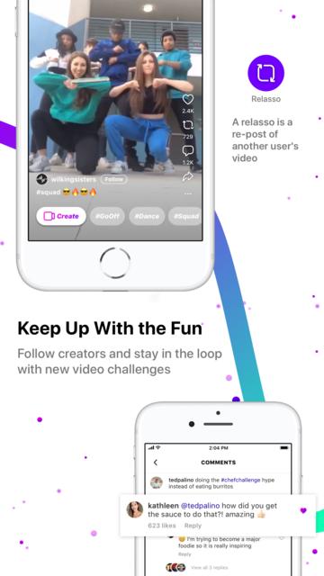 Lasso – short, fun videos screenshot 4