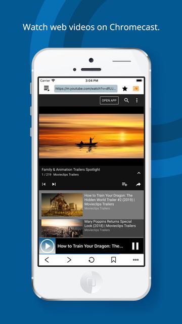 Web Cast for Chromecast screenshot 5