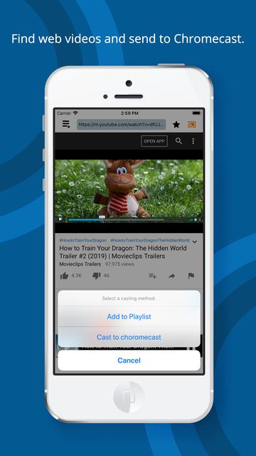 Web Cast for Chromecast screenshot 6