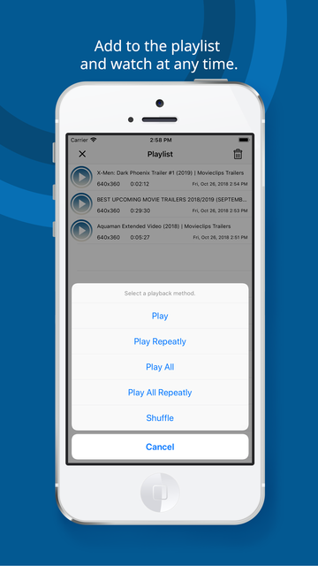Web Cast for Chromecast screenshot 8