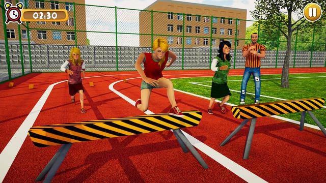 School Girl Life Simulator 3D screenshot 2