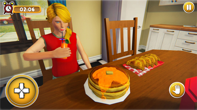 School Girl Life Simulator 3D screenshot 3