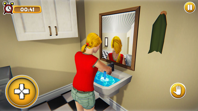 School Girl Life Simulator 3D screenshot 5