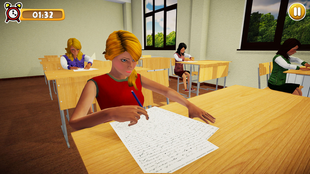 School Girl Life Simulator 3D screenshot 7
