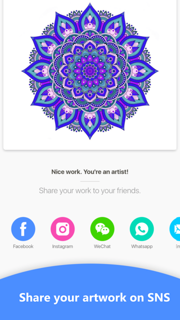 Qolorful-Coloring art game screenshot 6