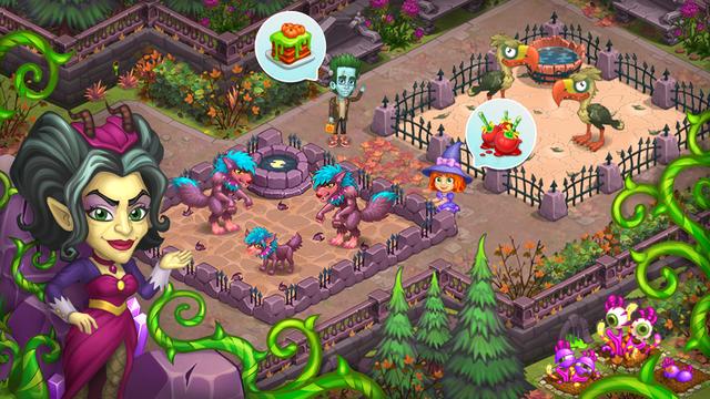 Monster Farm: Happy Halloween screenshot 7