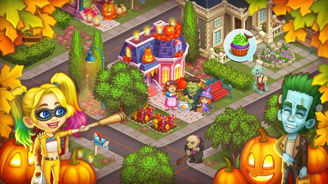 Monster Farm: Happy Halloween screenshot 5