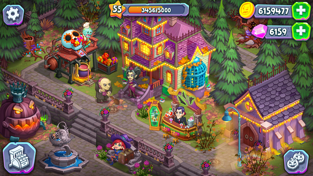 Monster Farm: Happy Halloween screenshot 6