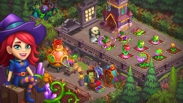Monster Farm: Happy Halloween screenshot 8