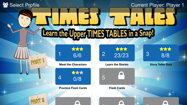 Times Tales Mobile screenshot 1