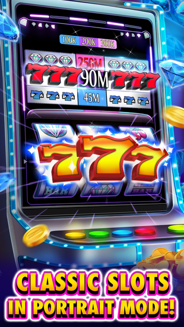 Huuuge Diamonds Slot Machine screenshot 1
