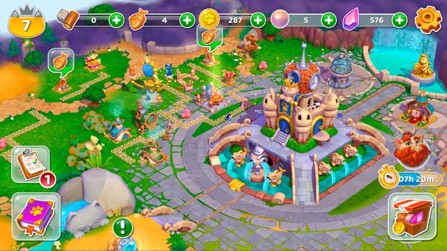 Cats & Magic: Dream Kingdom screenshot 6