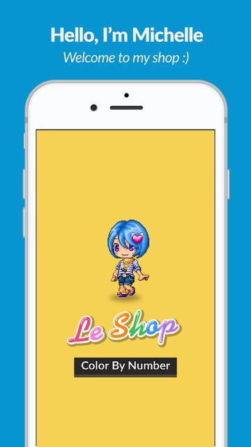 LeShop - Color by Number screenshot 9