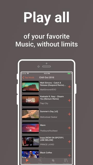 Snaptube - Unlimited Music screenshot 3