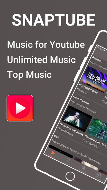 Snaptube - Unlimited Music screenshot 1