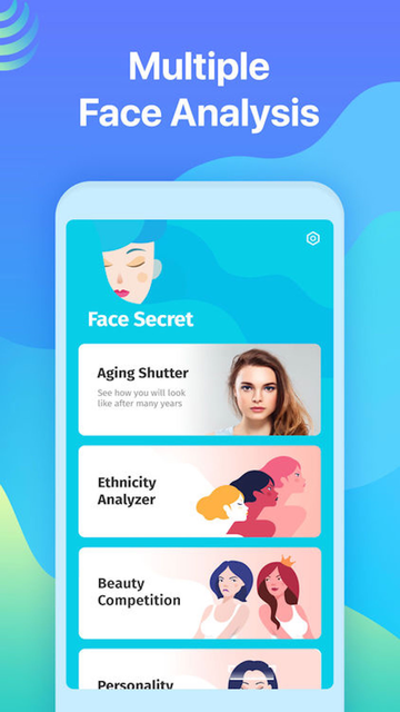 Face Secret App screenshot 2