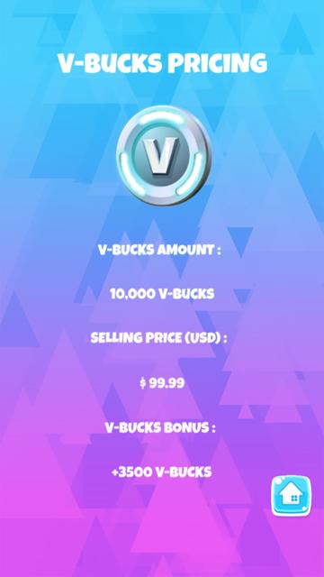 Fortnite V-Bucks screenshot 4