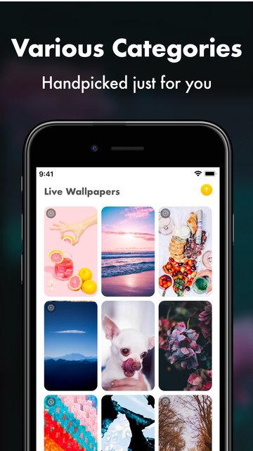 Live Wallpapers with HD Themes screenshot 6