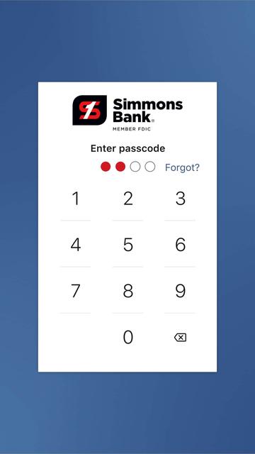 Simmons Bank screenshot 7