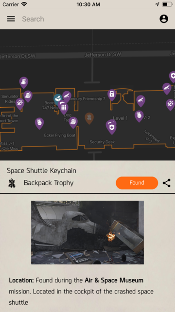 Unofficial Map for Division 2 screenshot 6