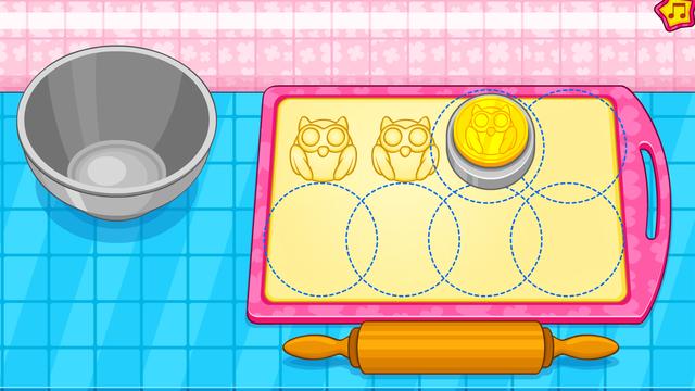 Cooking owl cookies game screenshot 13