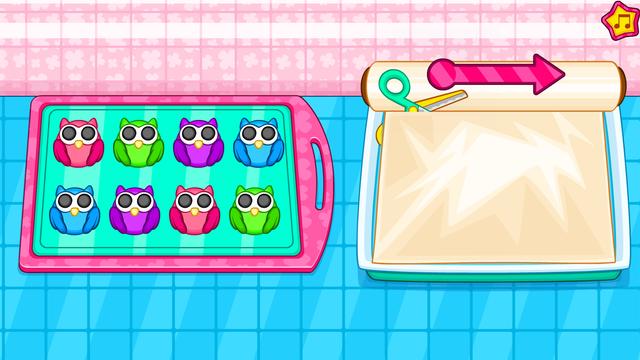 Cooking owl cookies game screenshot 15