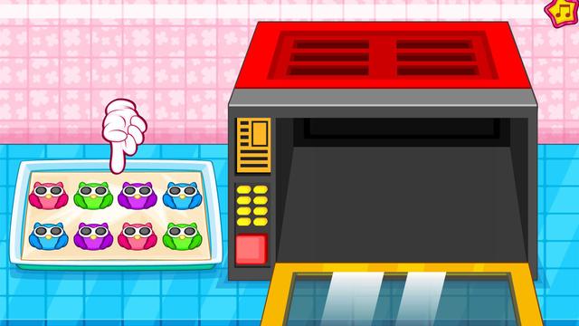 Cooking owl cookies game screenshot 16