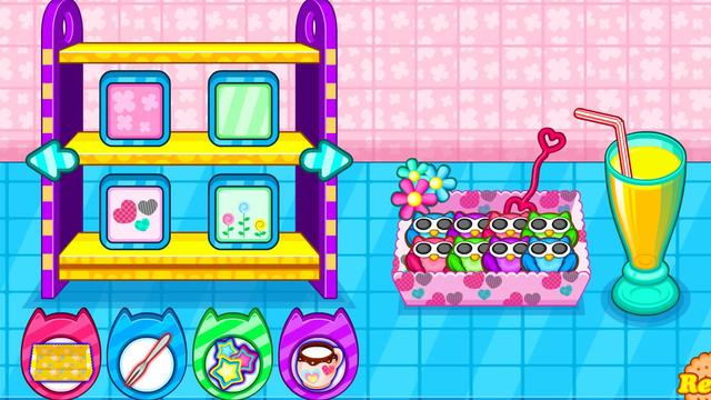 Cooking owl cookies game screenshot 18