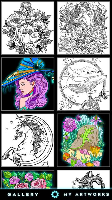 Coloring book for fun screenshot 5