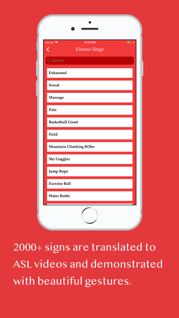 ASL: Sign Language Dictionary screenshot 3
