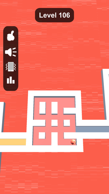 Rolling Paint - Color Maze screenshot 5