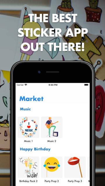 Sticker maker - Stickerama screenshot 1