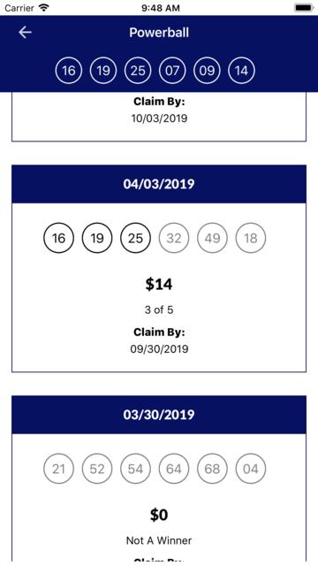 Oklahoma Lottery screenshot 8