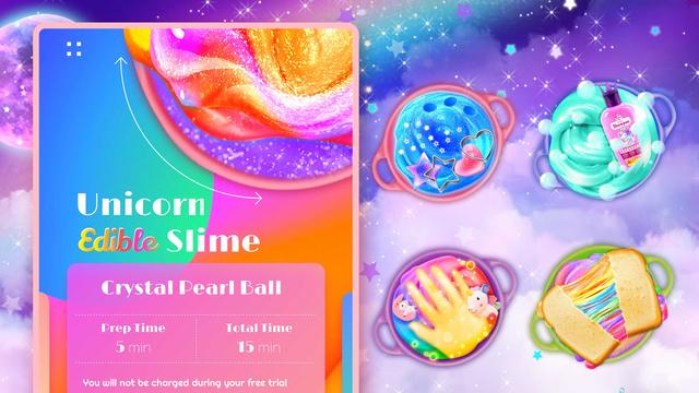Unicorn Chef: Edible Slime screenshot 5