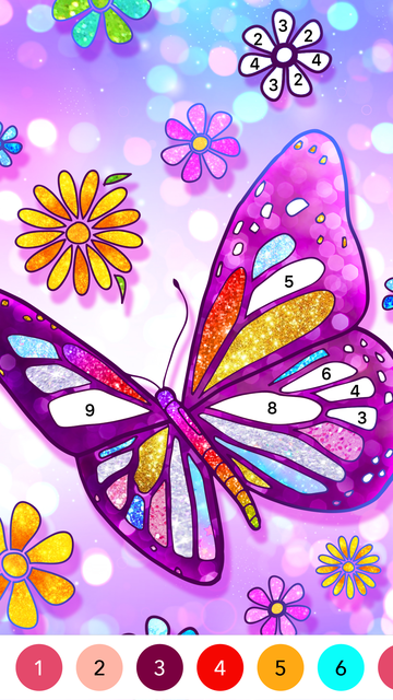 Color Fun - Color by Number screenshot 14