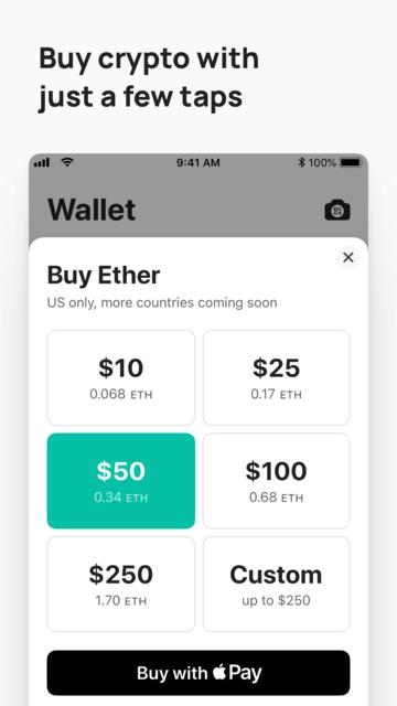 MEW wallet – Ethereum wallet screenshot 8