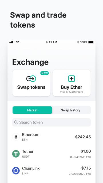 MEW wallet – Ethereum wallet screenshot 9