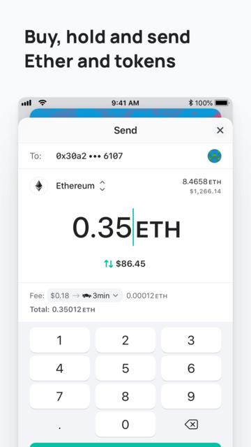 MEW wallet – Ethereum wallet screenshot 10